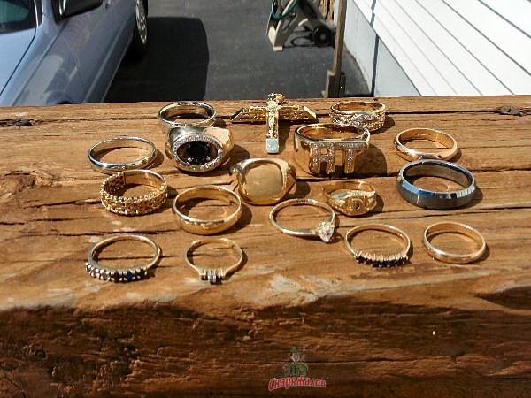 Схема металлоискателя золота