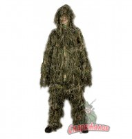 "Маскхалат""Ghillie Suit"" Stalker, woodland"